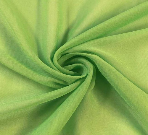 "60"" Wide Chiffon Fabric - Apple Green"