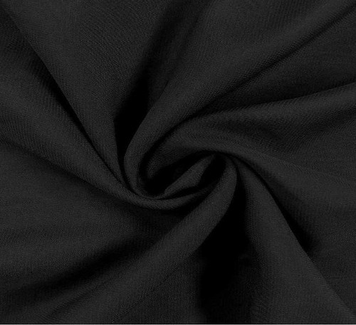 "60"" Wide Chiffon Fabric - Black"
