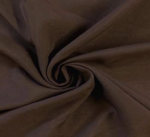 "60"" Wide Chiffon Fabric - Brown"