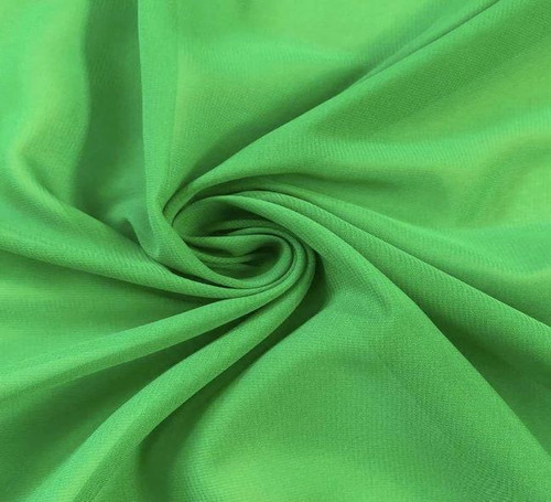 "60"" Wide Chiffon Fabric - Kelly Green"