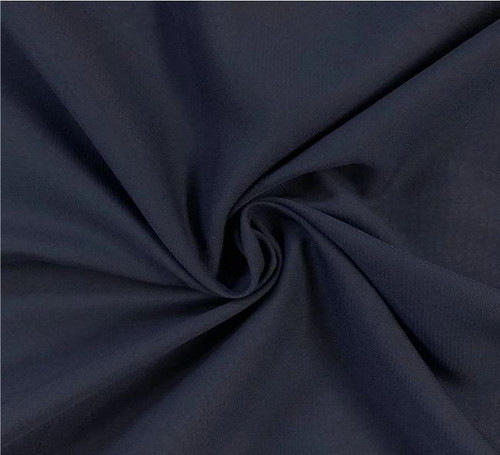"60"" Wide Chiffon Fabric - Navy Blue"