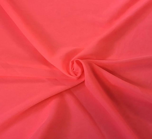 "60"" Wide Chiffon Fabric - Neon Pink"