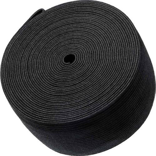 AK TRADING CO. Knitted Elastic 2'' Wide X 50 Yards - Black