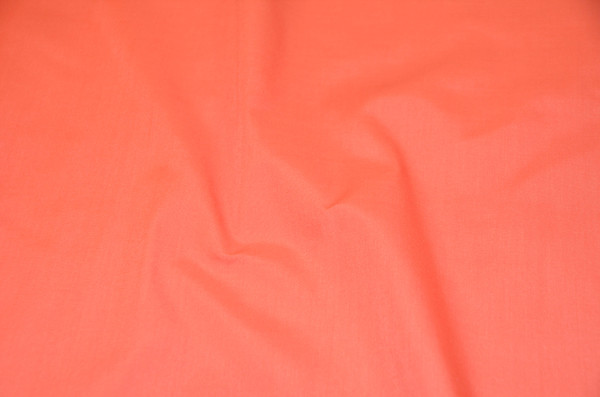 "60"" Coral Premium Polyester Cotton Blend Broadcloth"