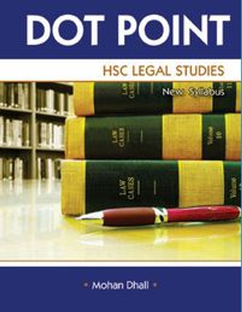 Dot Point HSC Legal Studies