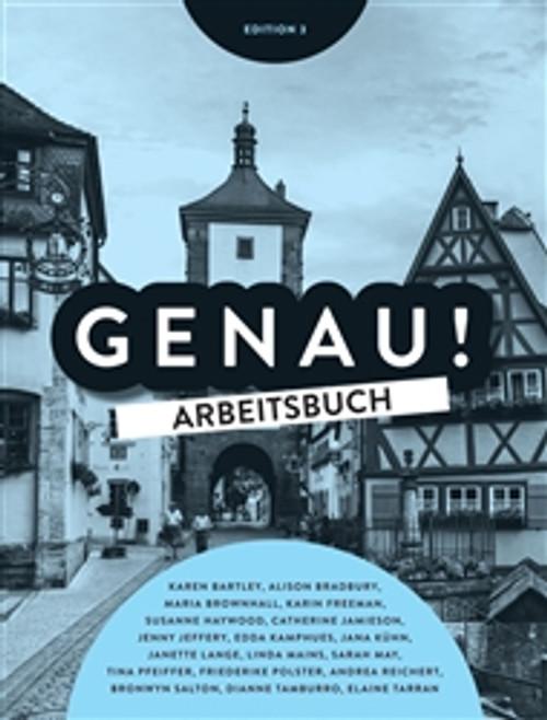 Genau Workbook (Inc Audio CD/DVD) (3E)