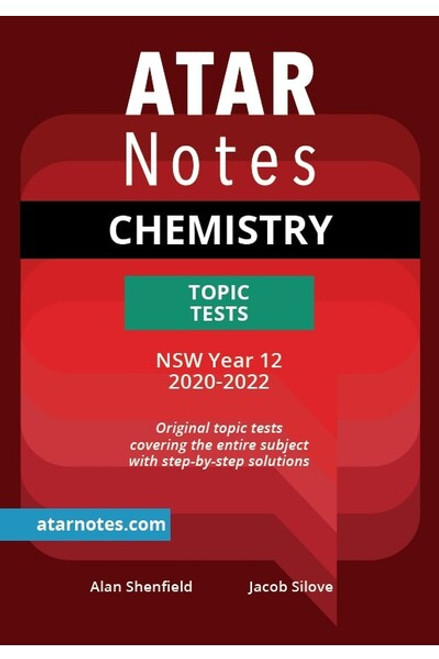 ATAR Notes HSC Chemistry Topic Tests