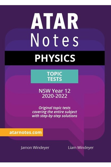 ATAR NOTES HSC Physics Topic Tests