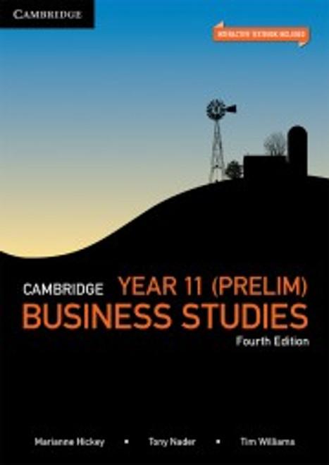 Cambridge Prelim Business Studies 4th ed (text +interactive)