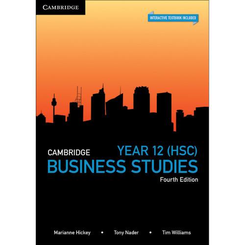 Cambridge HSC Business Studies 4ed (text +interactive)