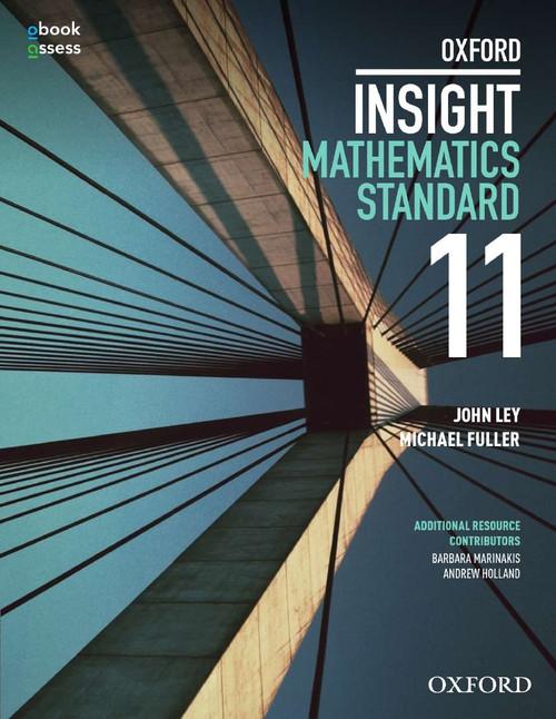 Oxford Insight Mathematics Standard Year 11