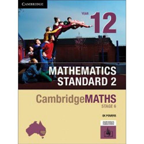 Cambridge Maths NSW Mathematics Standard 2 - Yr 12 Print and Hotmaths