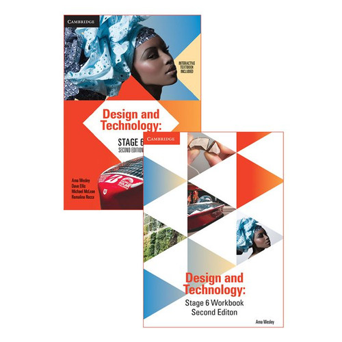 Design and Technology Stage 6 Bundle (Textbook + Workbook)