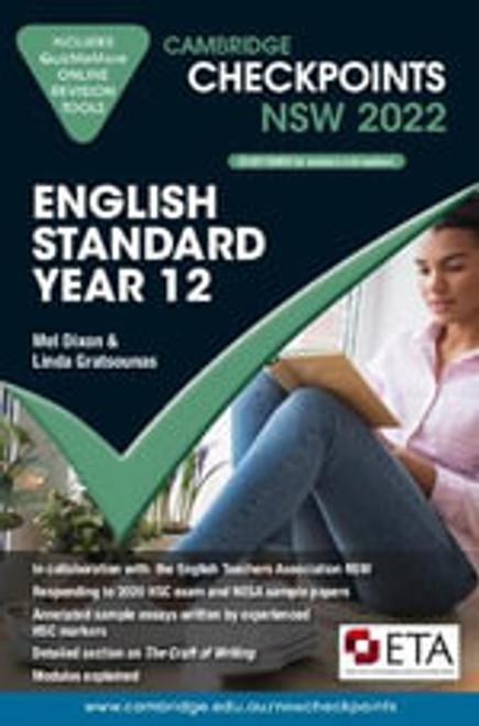Cambridge Checkpoints NSW (2022-2023) English Standard Yr 12