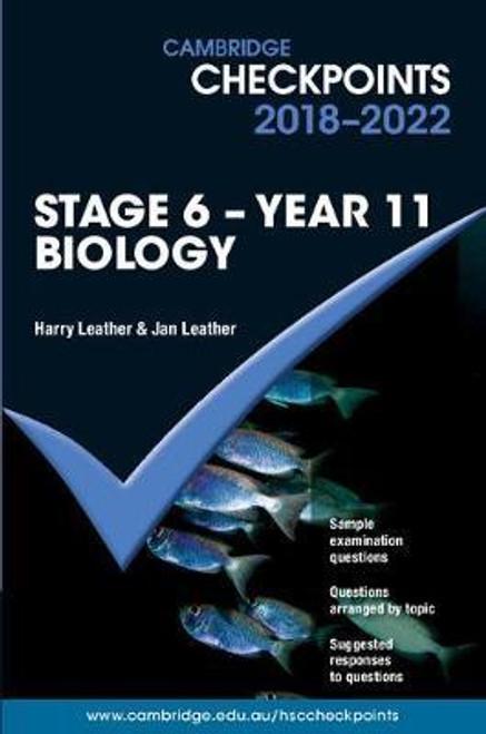 Cambridge Checkpoints 2018-2022 Biology Yr 11