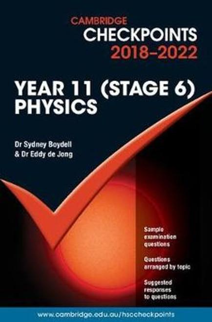 Cambridge Checkpoints 2018-2022 Physics Yr 11