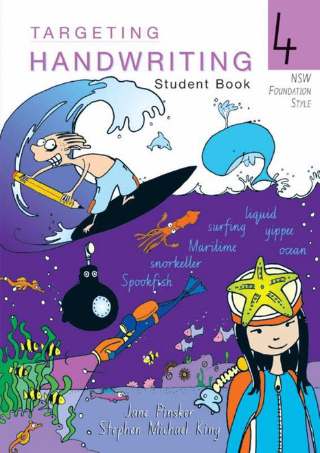 Targeting Handwriting NSW Student Book 4