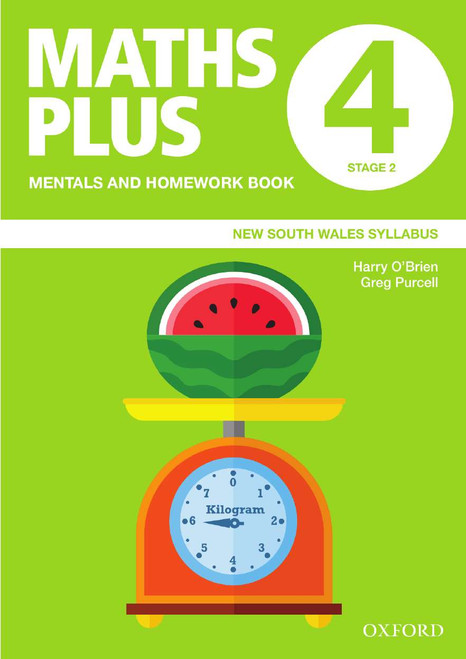 Maths Plus NSW Mentals and Homework Book 4