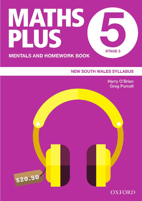 Maths Plus NSW Mentals and Homework Book 5