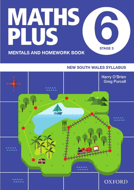 Maths Plus NSW Mentals and Homework Book 6