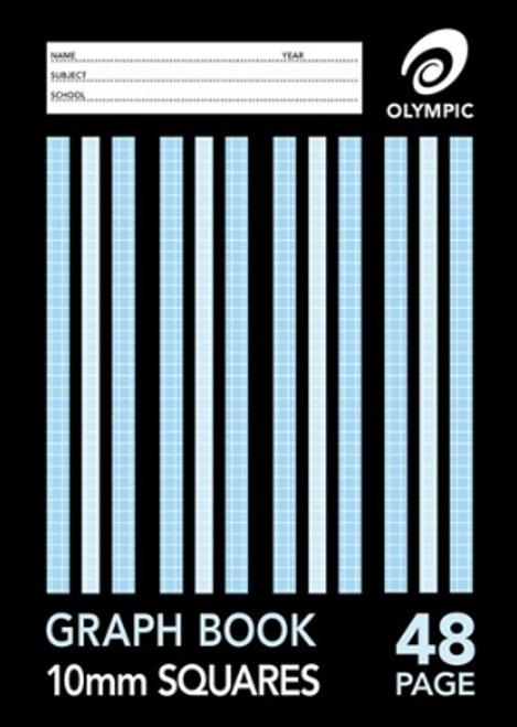 Graph Book A4 48pg 10mm