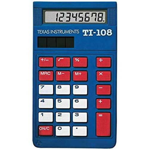 Calculator Texas Instruments TI-108