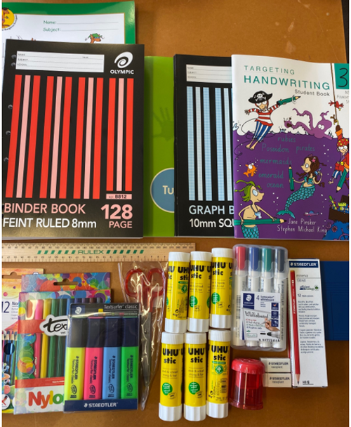 OLPS Year 3 Back to School Pack 2021