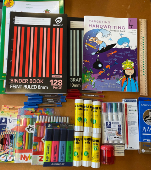 OLPS Year 4 Back to School Pack 2021