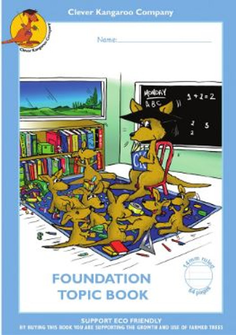 Clever Kangaroo Topic Book