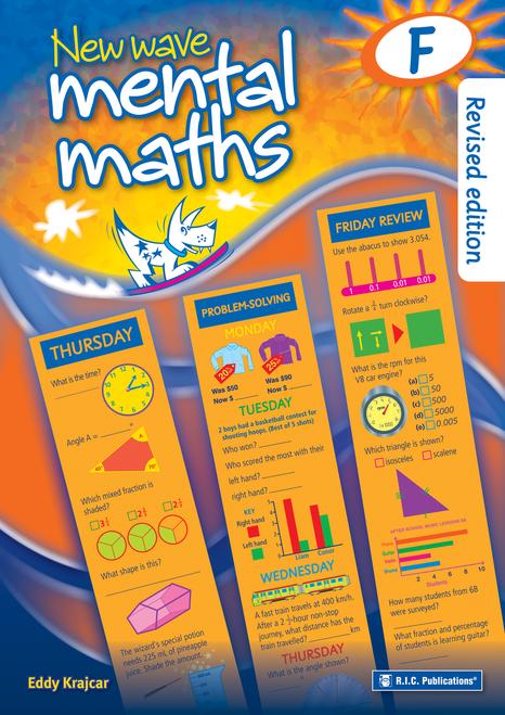 New Wave Mental Maths Book F