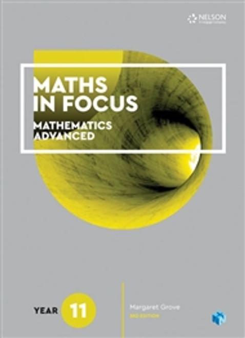 Maths in Focus Mathematics Advanced Yr 11 (Print and Digital)