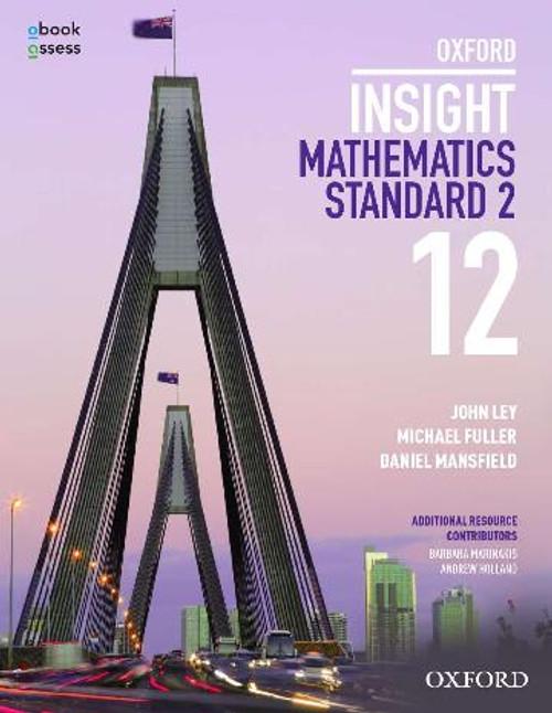 Oxford Insight Mathematics Standard Year 12