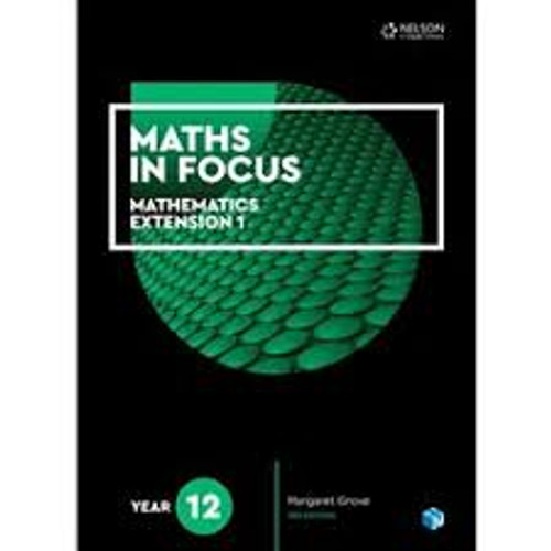 Maths in Focus: Mathematics Extension 1