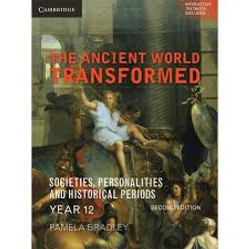 The Ancient World Transformed Year 12 2E