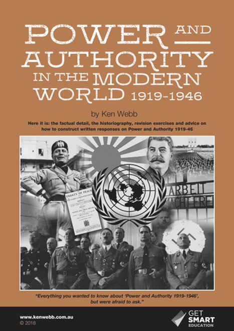 Power and Authority in the Modern World (1919-1946) Spiral Ed