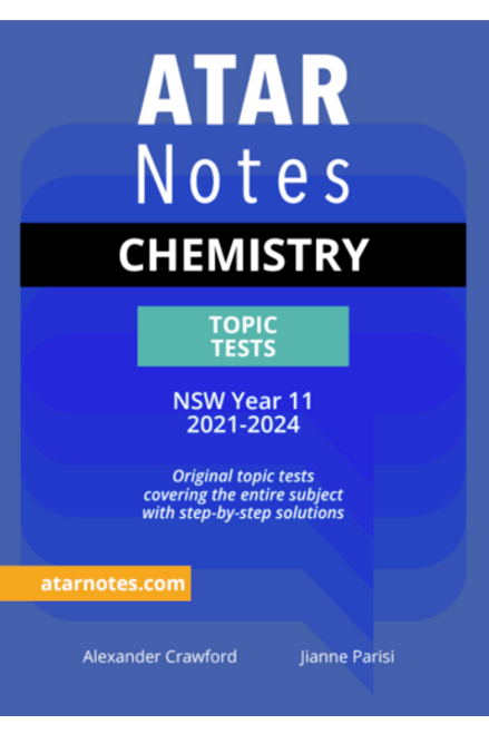 ATAR Notes Preliminary Chemisty Topic Tests
