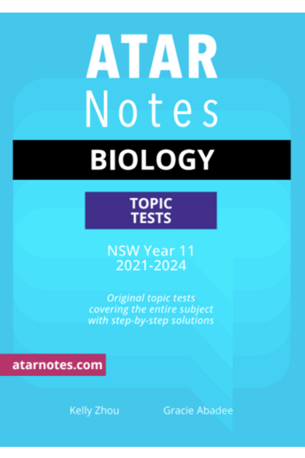 ATAR Notes Preliminary Biology Topic Tests