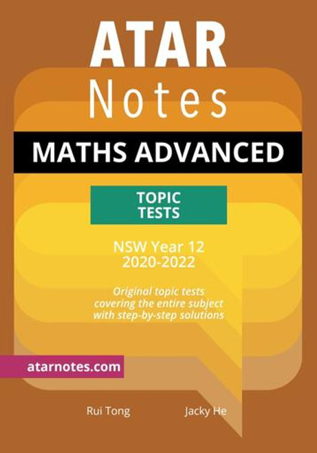 ATAR Notes HSC Maths Advanced Topic Tests