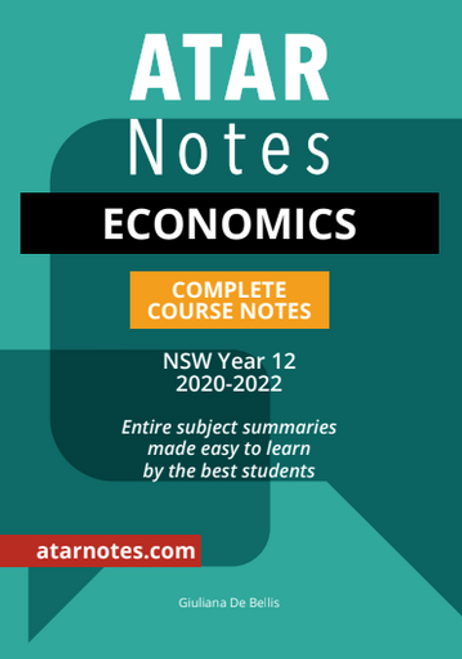 ATAR Notes HSC Economics Complete Course Notes