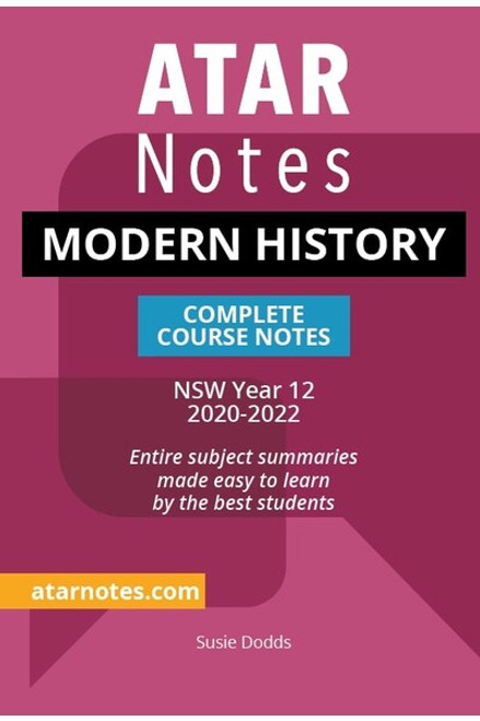ATAR Notes HSC Modern History Complete Course Notes