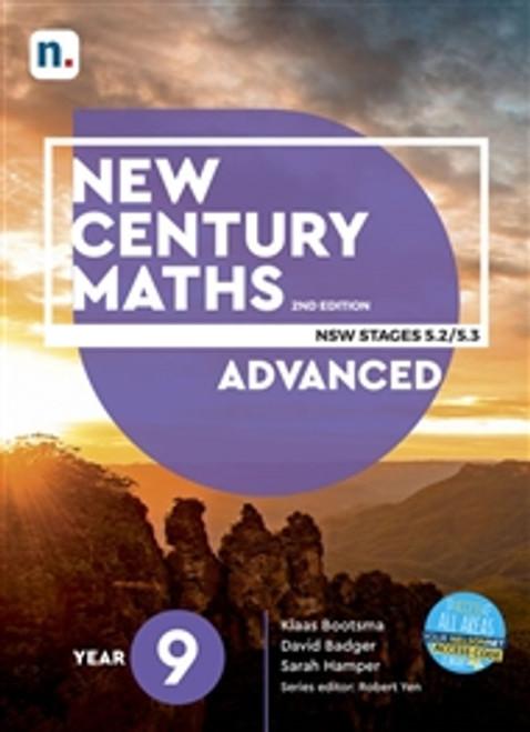 New Century Maths NSW Year 9 Advanced 5.2/5.3 2e