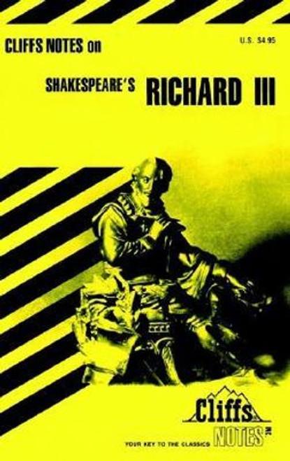 Cliffs Notes: Richard III