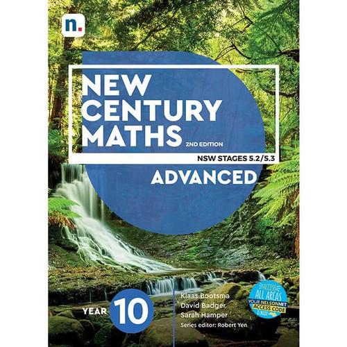 New Century Maths Year 10 Advanced 5.2/5.3