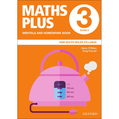 Maths Plus NSW Mentals and Homework Book 3