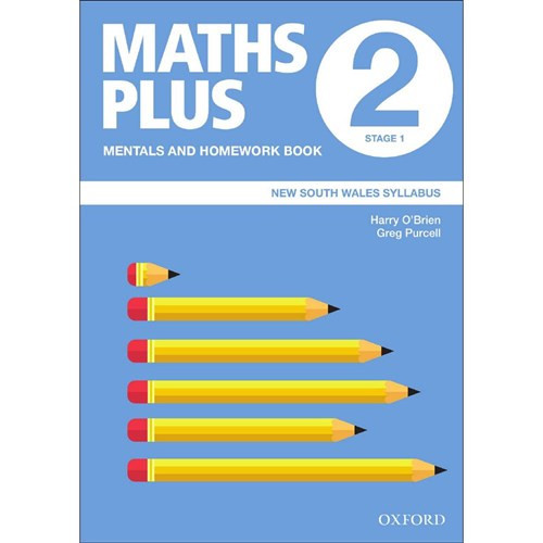 Maths Plus NSW Mentals and Homework Book 2