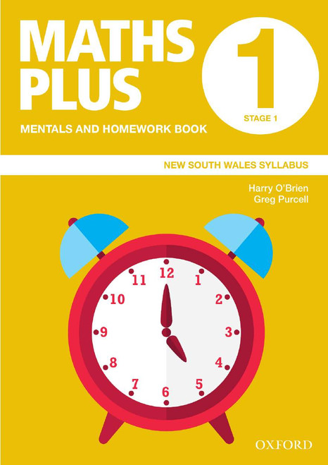 Maths Plus NSW Mentals and Homework Book 1