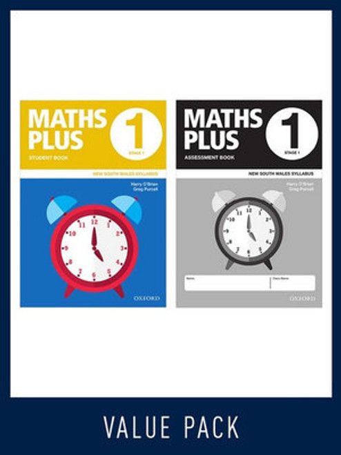 Maths Plus NSW Student and Assessment Book 1