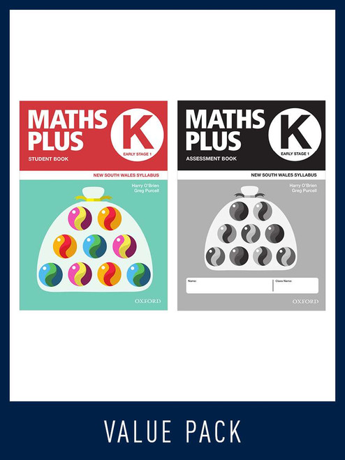 Maths Plus NSW Student and Assessment Book K