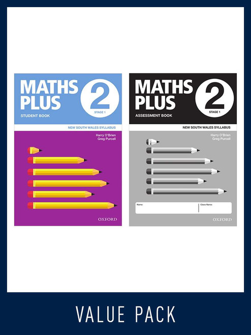Maths Plus NSW Student and Assessment Book 2