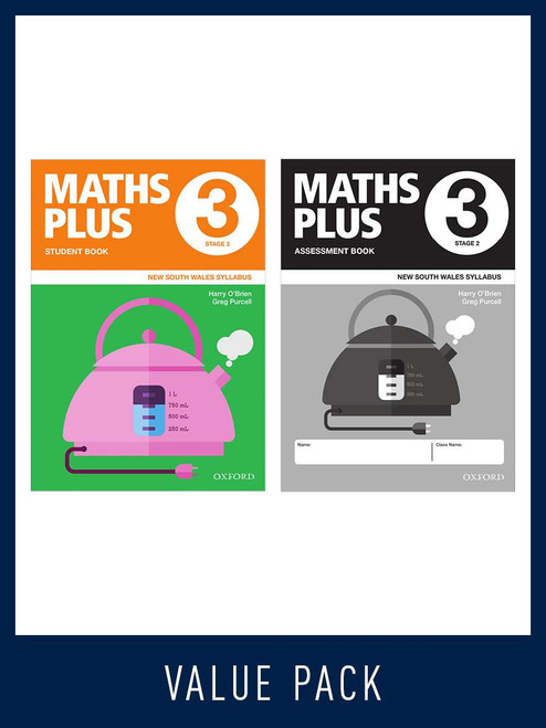 Maths Plus NSW Student and Assessment Book 3